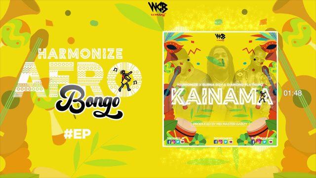 MP3 DOWNLOAD Harmonize ft Burna boy x Diamond platnumz - Kainama