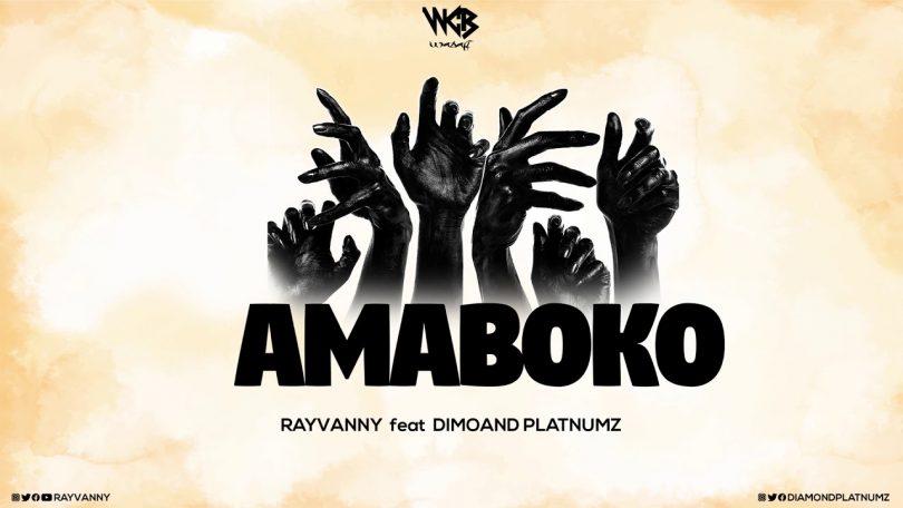 DOWNLOAD AUDIO Rayvanny Ft Diamond Platnumz - Amaboko