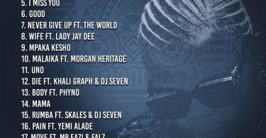 Download Full Album: Harmonize – Afro East
