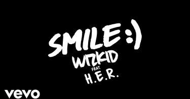 DOWNLOAD MP3 WizKid ft H.E.R - Smile