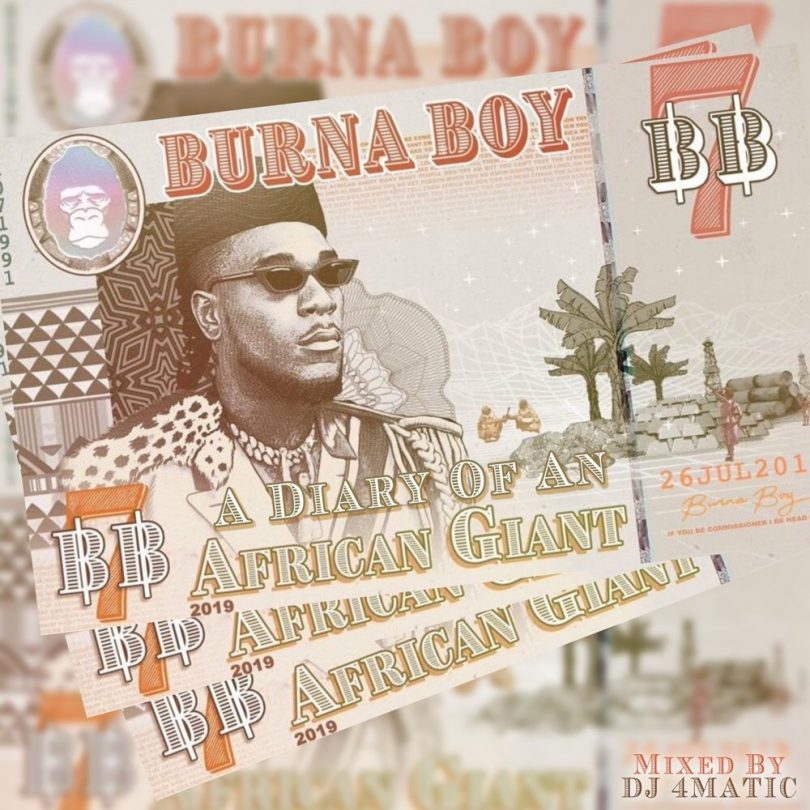DOWNLOAD MP3 Burna Boy - Gbona