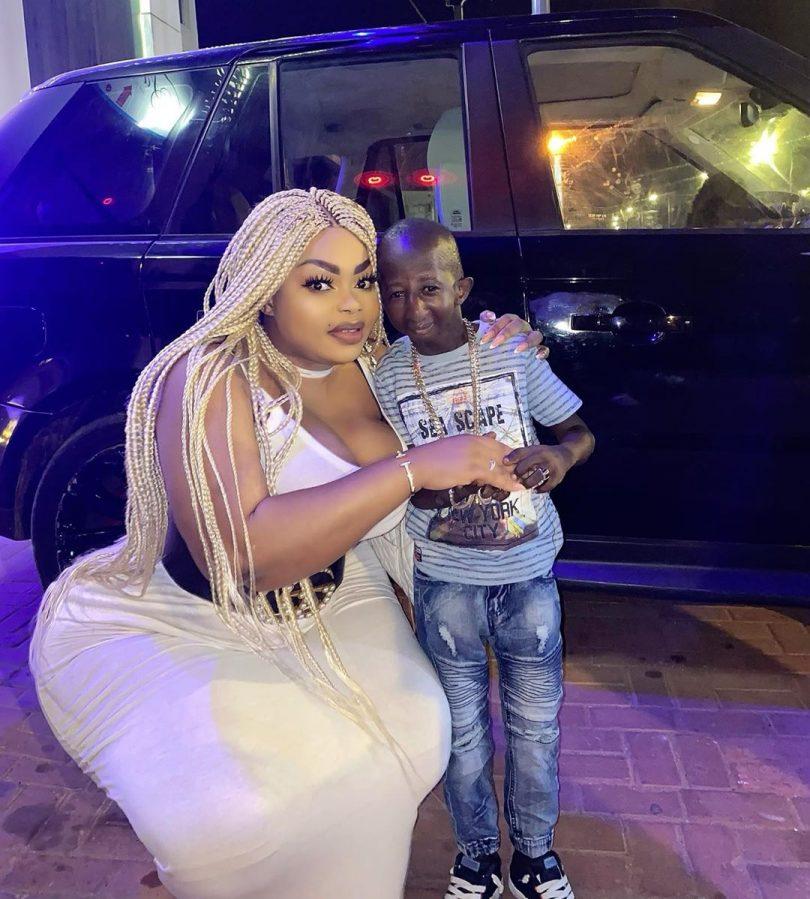 Hii Ndio Couple Maarufu Mitandaoni Kwa Sasa Ni Ya Grand P Na Eudoxie (+Picha)