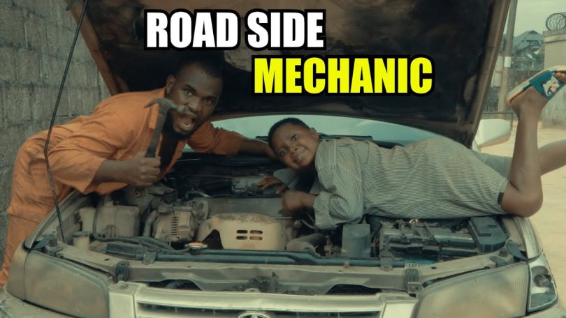 DOWNLOAD COMEDY Praize Victor Comedy - Road Side Mechanic