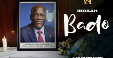 MP3 DOWNLOAD Ibraah – Bado Magufuli