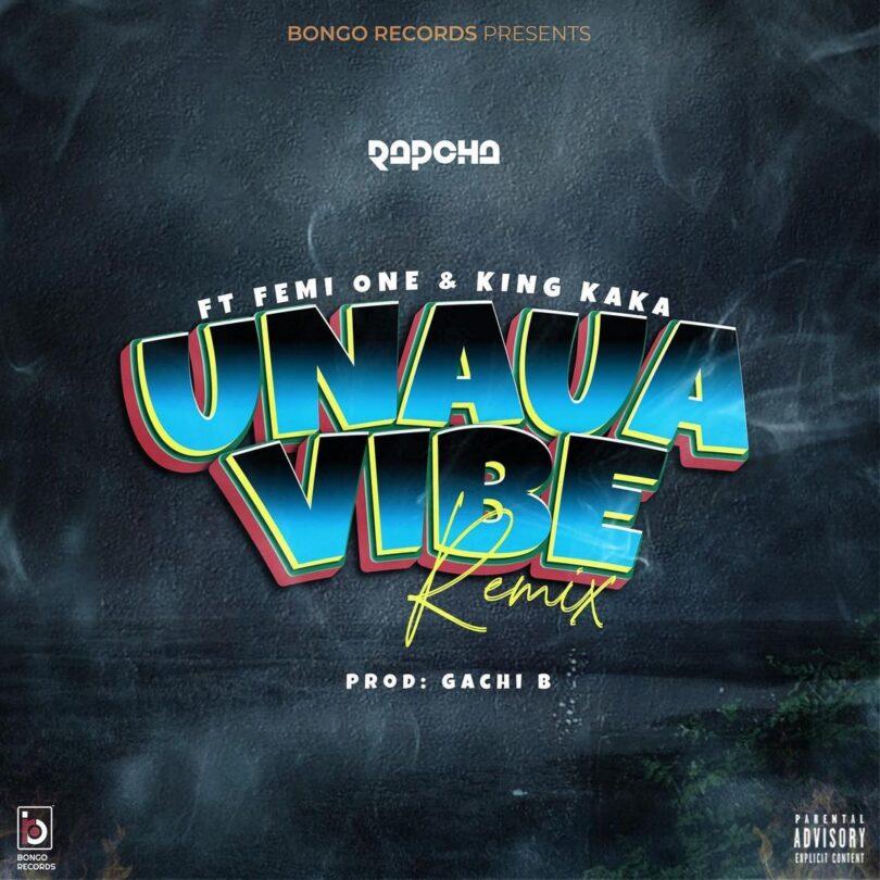 MP3 DOWNLOAD Rapcha Ft Femi One & King Kaka - Unaua Vibe Remix