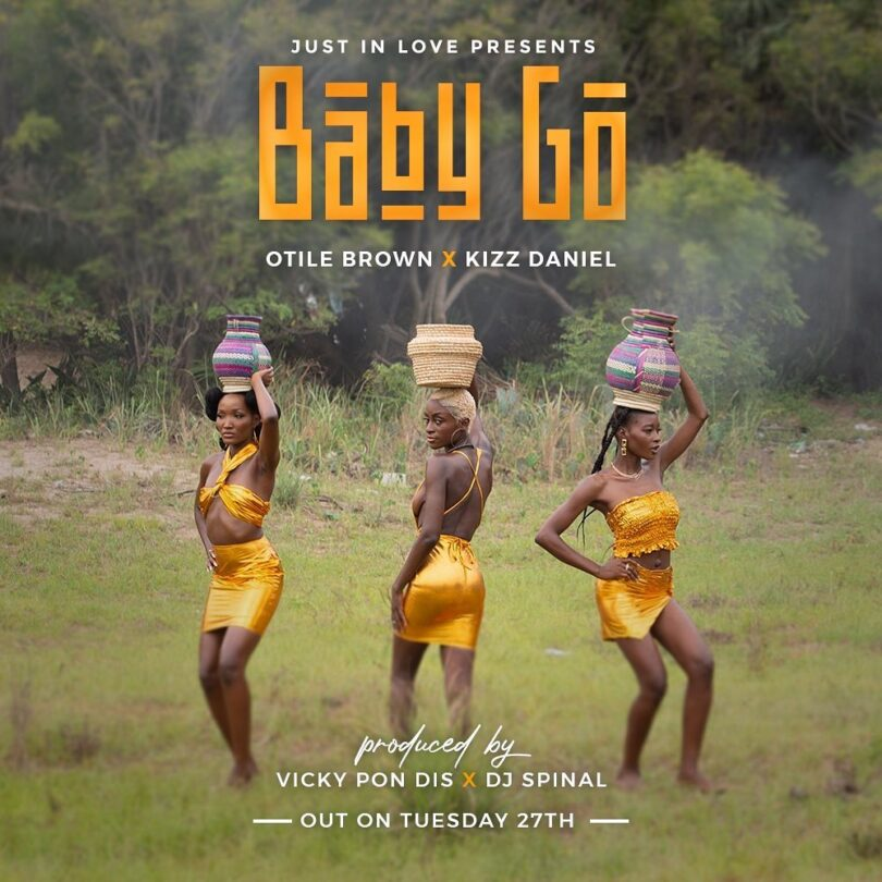 MP3 DOWNLOAD Otile Brown X Kizz Daniel - Baby Go