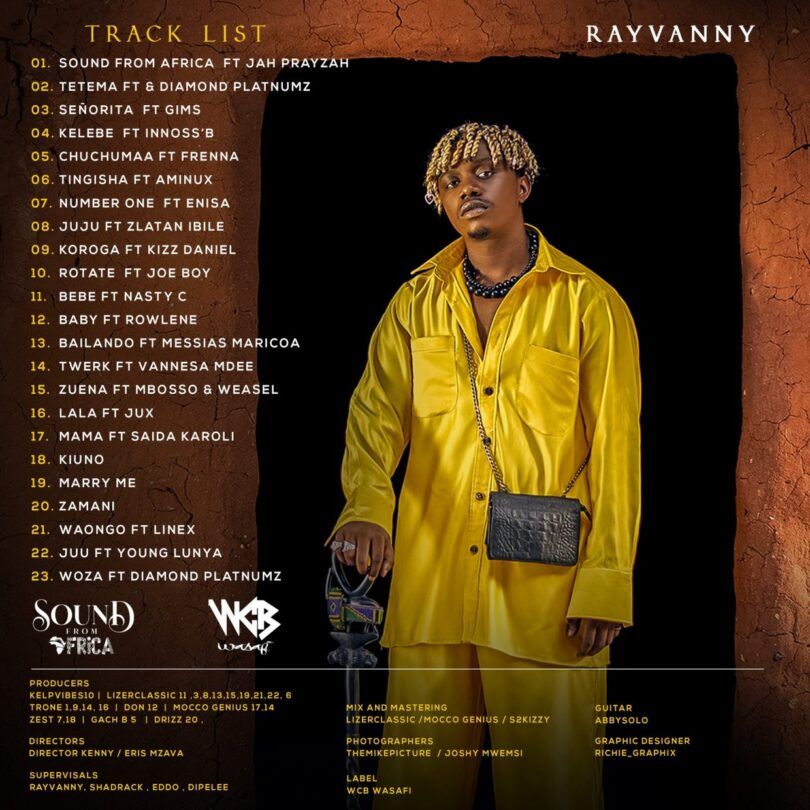 VIDEO DOWNLOAD Rayvanny - Sound From Africa