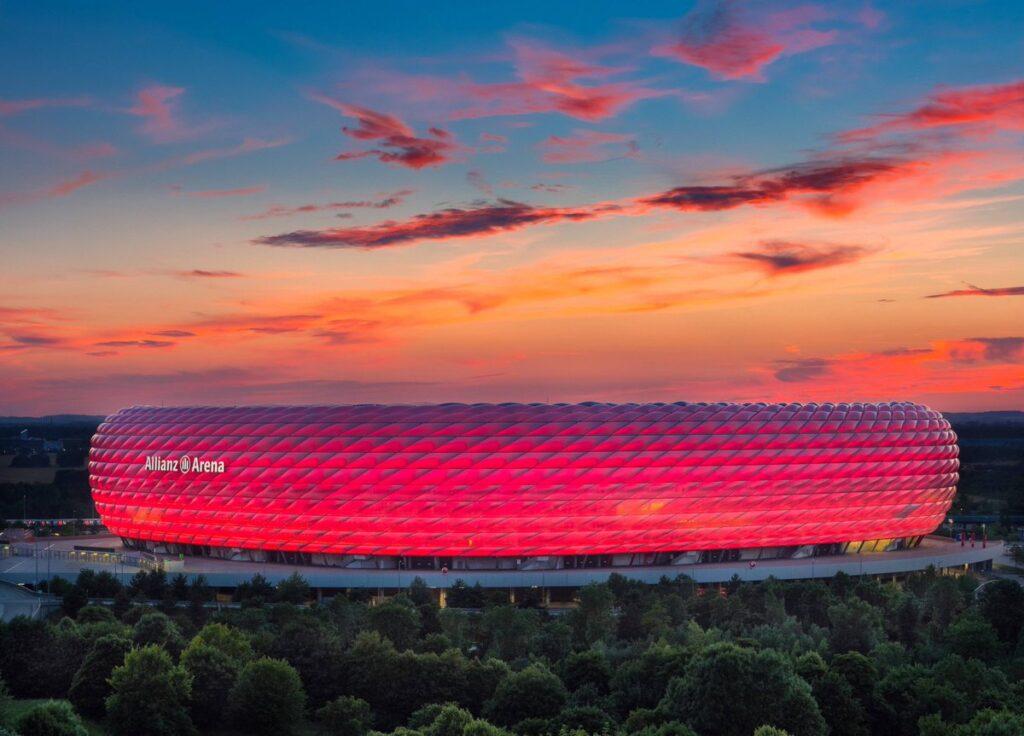 Fußball Arena Munchen, Munich